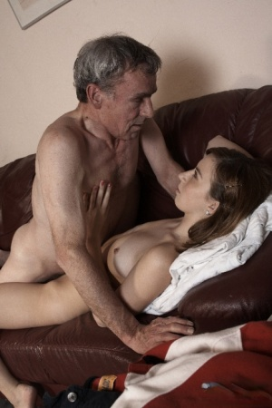 Teenage and old man nude fucking